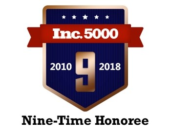 Marathon Consulting places on the Inc 5000 list for the 9th year in a row